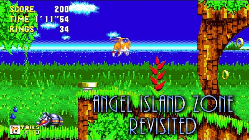 Sonic 3 A.I.R. – Angel Island Zone Revisited (Fan Game)