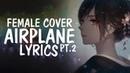 Nightcore - Airplane Pt.2 (English cover / Female / Acoustic) BTS (방탄소년단) || Lyrics