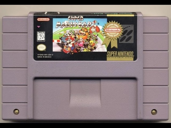 Classic Game Room - SUPER MARIO KART review for SNES