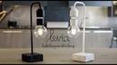 Levia Unique levitating marble lamp