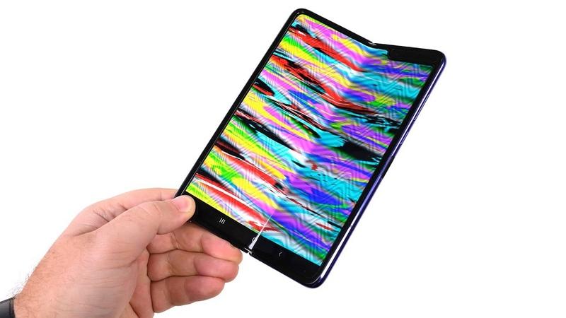 Galaxy Fold 48 часов спустя А что с гибким экраном