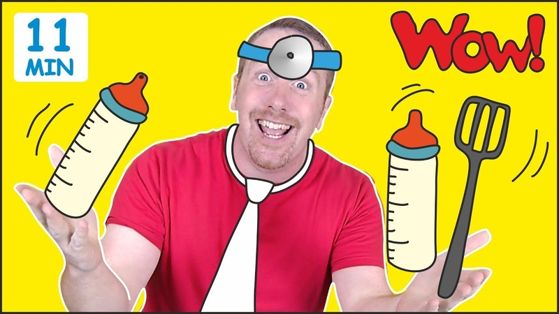 Jobs for Kids MORE Fun Speaking Stories for Children from Steve and Maggie Learn Wow English TV