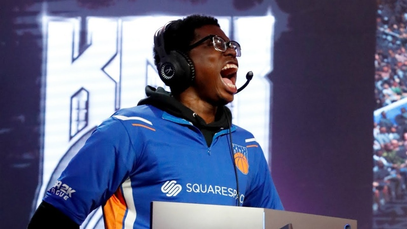 NBA 2K League Finals Game 1 Knicks Gaming Edges Heat Check Gaming in Thriller