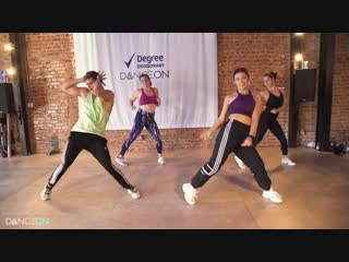 Degree x danceon _ same squad - p-low _ dance2fit with jessica bass james _ #spo