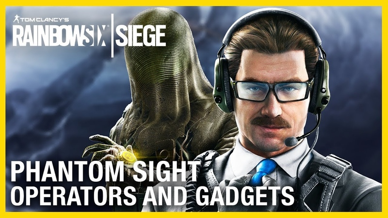 Rainbow Six Siege: Phantom Sight Operators Gameplay and Gadget Starter Tips | Ubisoft [NA]