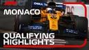 2019 Monaco Grand Prix Qualifying Highlights