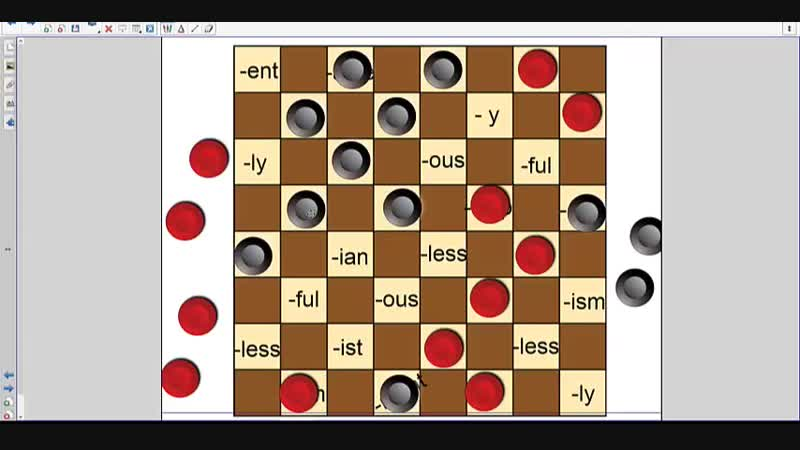 Checkers and suffixes