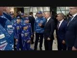 Владимир Путин встретился с командой КамАЗ-мастер, одержавшей очередную победу в ралли Дакар