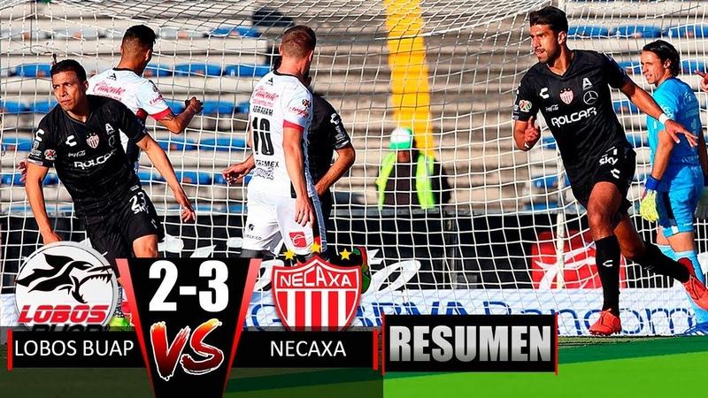 Mexico I Lobos BUAP Vs Necaxa 2-3 Resumen y Goles Jornada 3 Liga MX Clausura 2019