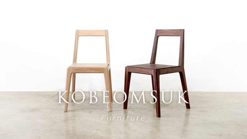 Kobeomsuk furniture Making of Rounded Chair