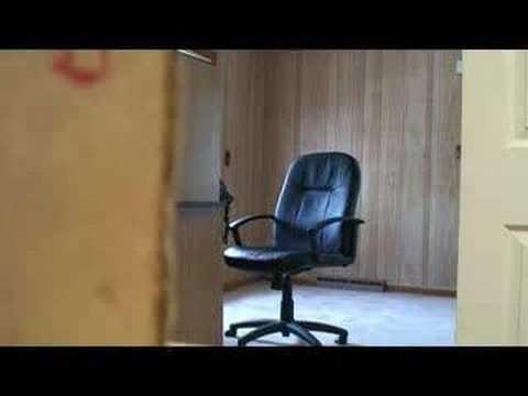 Fat boss breaks chair