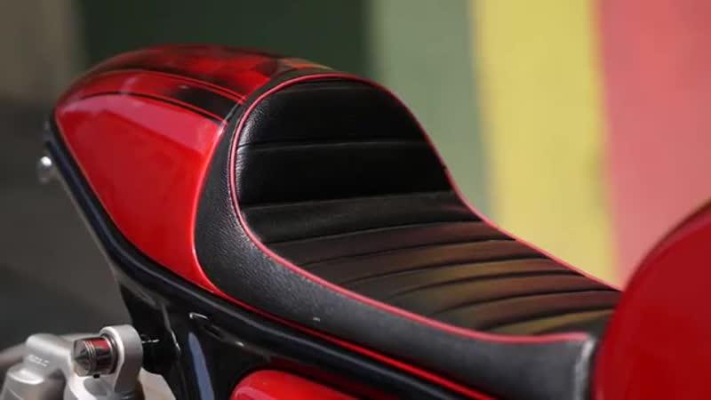 Honda CB400 Cafe Racer by Papnmam Modified