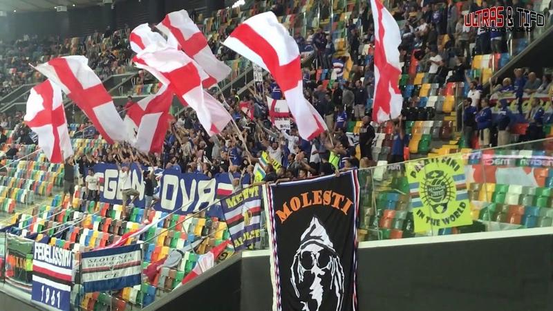 ITA Udinese Calcio Sampdoria Genoa Fans 2018 08 26