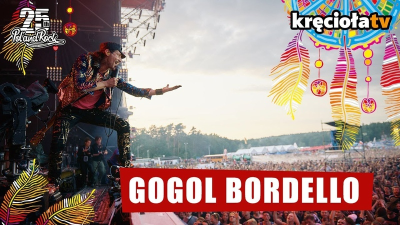 Gogol Bordello Wonderlust King Live @ Poland Rock 2019 01 08 2019