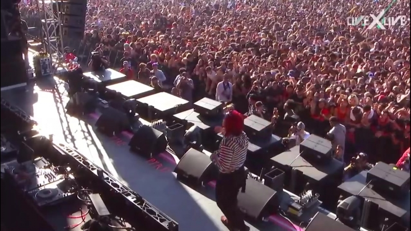 Trippie Redd - rolling loud bay area 2018 (prt 1-2) (DESC)