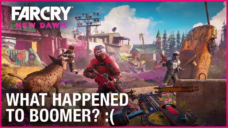 Far Cry New Dawn Post-Apocalyptic Gameplay and Character Details