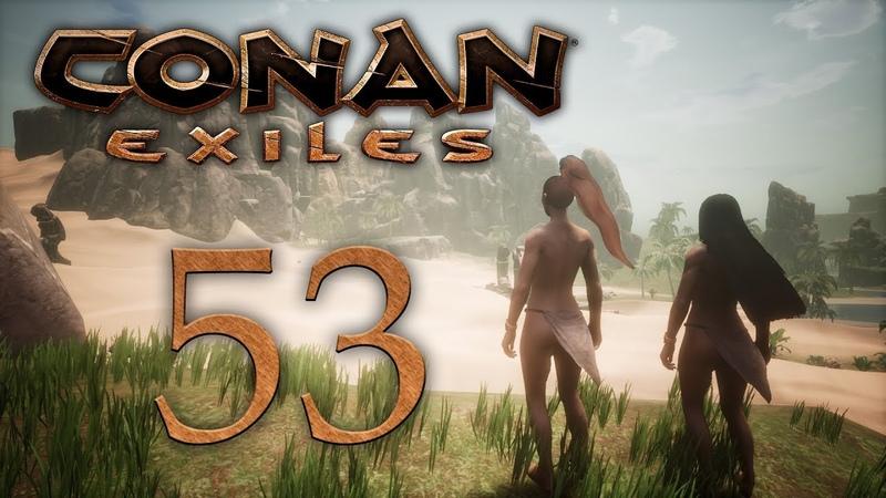 Conan Exiles - Смотрим обновление - Ночное видение, когти Джеббал Сага, босс паук [53] Финал | PC