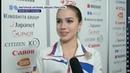 Alina Zagitova Interview Short Grand Prix Final 2018 12 6