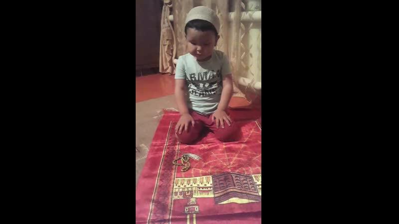 Менің Шапағатым болашақ имам болады👳♂️ аллах каласа 🕋