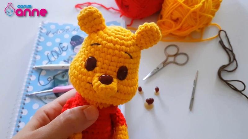 Amigurumi Winnie the Pooh Anlatımlı Tarifi