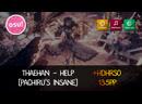 The weirdest score lmao   Thaehan - Help [Pachiru's Insane] HDHRSO   135pp