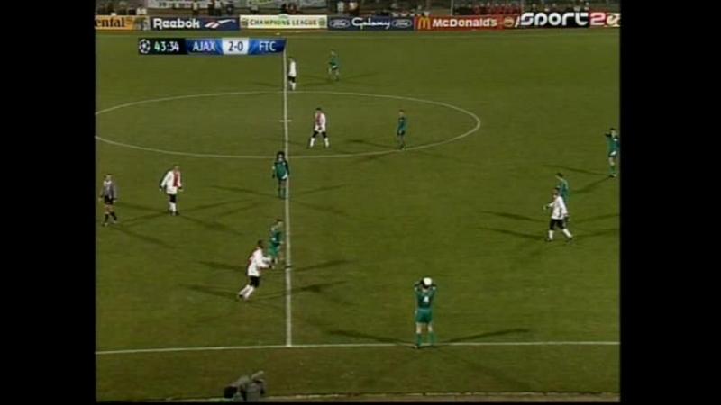 Ajax-Ferencvarosi FTC.1half