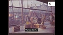 1950s Fisherman Trawler Boat in Harbour HD