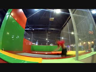 Pаvel Taiga - time in the trampoline park