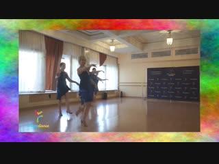 Наш хореограф танцует solo latino