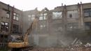 Демонтаж здания завода Кулон .