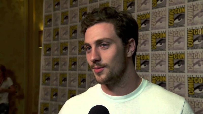 The Avengers Age of Ultron Aaron Taylor-Johnson Comic Con Movie Interview