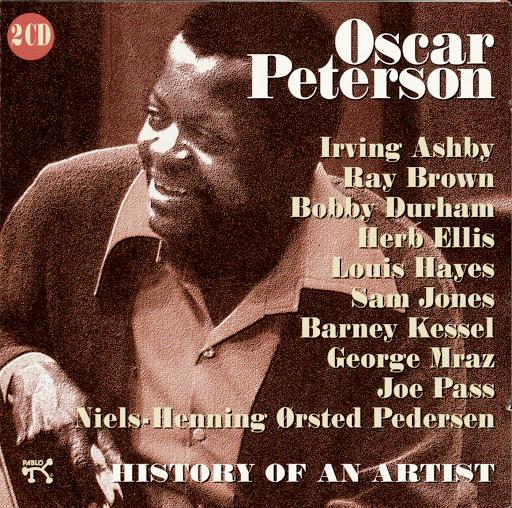 Oscar Peterson альбом History Of An Artist