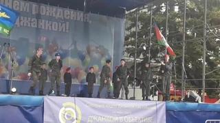 На День города в Джанкое дети показывали милитаристские сценки с убийствами | InfoResist