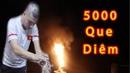 Thử Đốt 5000 Que Diêm Trong Chai Nước Burning Matchstick In Water Bottle