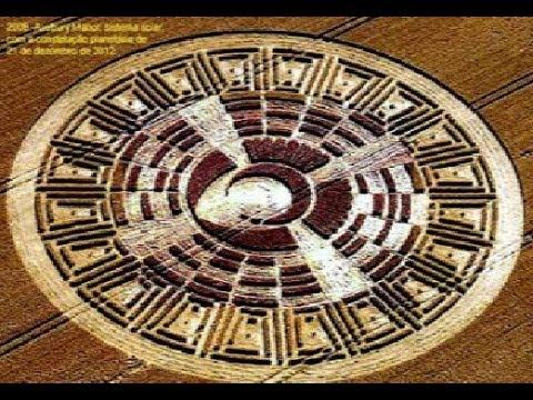 CROP CIRCLE Tradução Estamos enviando nossas vibrações para ajudá-lo (Aumentar suas ferramentas)