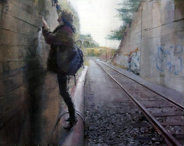 Испанский уличный художник Себас Веласко. То, что делает Себас, называется муралом. Это ну очень большое произведение искусства, чаще всего картина или граффити, нанесённое на поверхность стены.