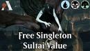 MTG Arena GRN   Free Singleton Event Sultai Value Gameplay [Free=Fun]