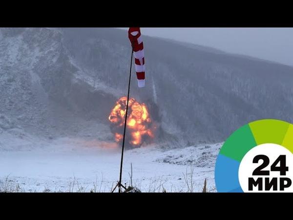 Военные подорвали 56 тонн тротила на месте оползня на Бурее - МИР 24