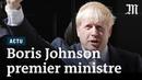 Boris Johnson son premier discours en tant que premier ministre