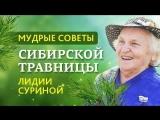 МУДРЫЕ СОВЕТЫ СИБИРСКОЙ ТРАВНИЦЫ Л.Н. СУРИНОЙ