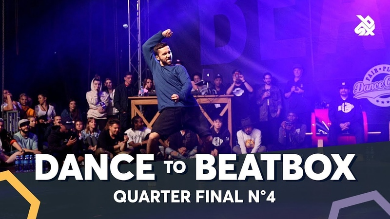 IAN EASTWOOD vs DYLAN MAYORAL feat. KRNFX NAPOM | Dance Battle To The Beatbox 2018 | 1/4 Final