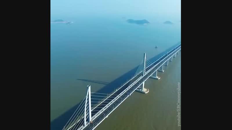 Самый длинный морской мост | АКУЛА