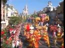 Walt Disney World Christmas Day Parade December 25 2008