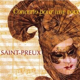 Saint-Preux альбом Concerto pour une voix