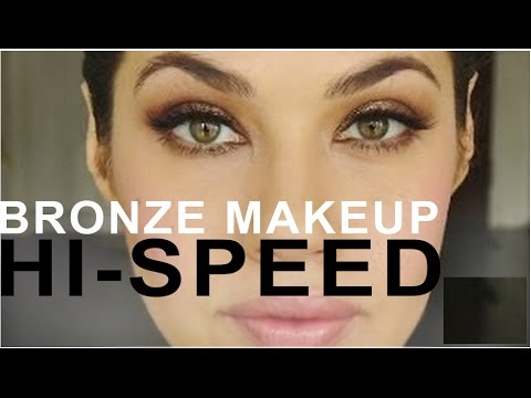 Natural Bronze Makeup HI-SPEED | Eman