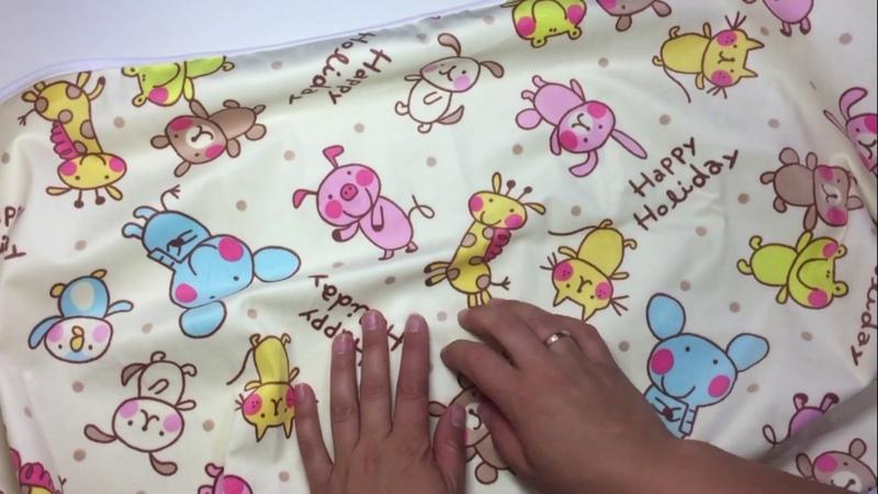 Непромокаемая пелёнка многоразовая тёплая Multi Diapers
