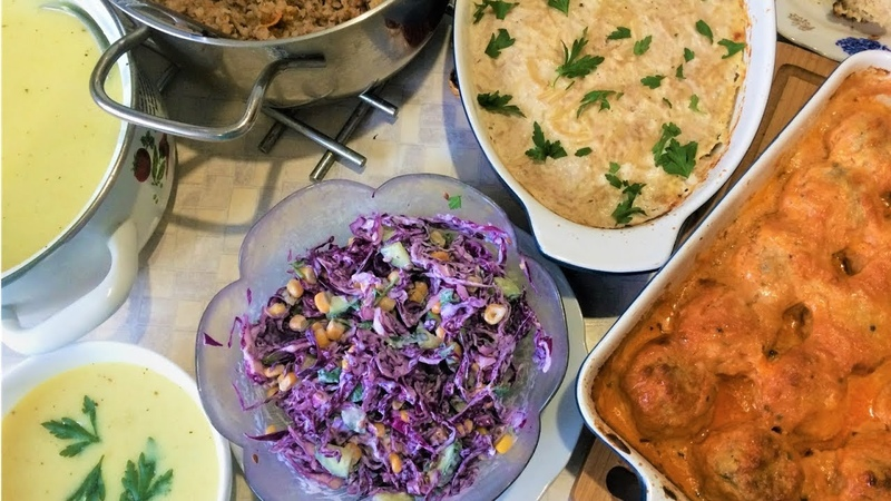 Готовлю 5 блюд на 2 дня/Чем я кормлю свою семью/Что приготовить?