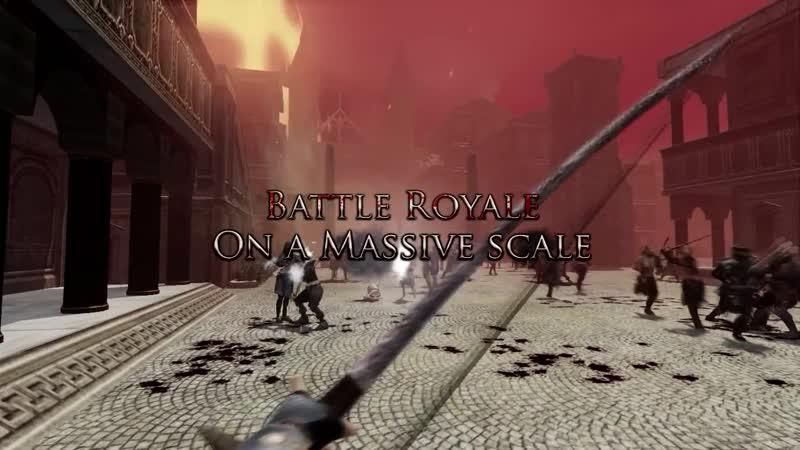 Трейлер королевской битвы Mortal Royale на 1000 игроков.