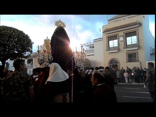 Procesion Virgen de LUZ y ANIMAS ALHAURIN de la TORRE 2018, marchas procesionales, 24/03
