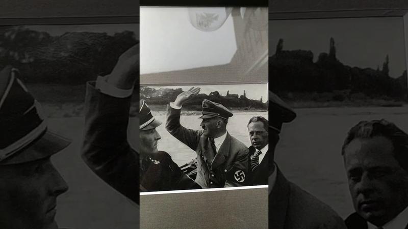 Old press photo of Adolf Hitler 3rd Reich